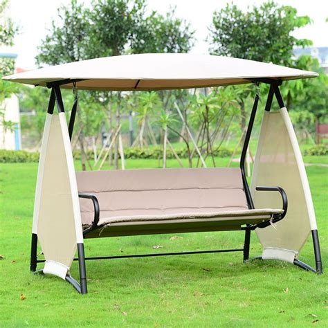 Patio Swing Cushions And Canopy 25 Best Ideas About Patio Swing With Canopy On