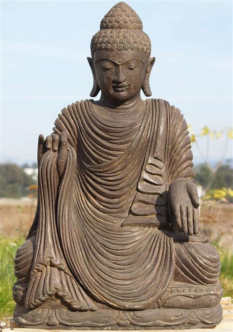 buddha statues or sculptures buddhist statue and hindu sold stone varada buddha statue 32 quot 69ls10 hindu gods