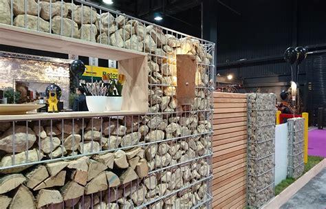 Brennholz Unterstand Holz 1030 by Gabionenzaun Die Gabionenwand G 252 Nstig Im Preis Aus