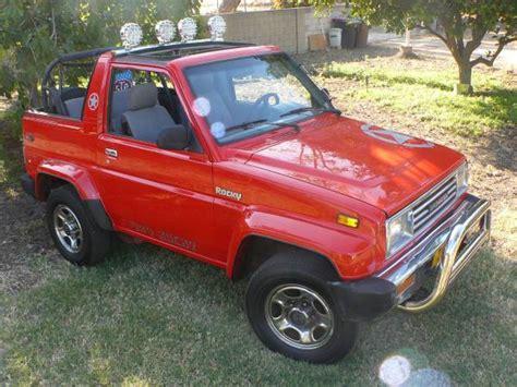 rocky 4x4 daihatsu 1990 daihatsu 4x4 rocky 4x4 cars