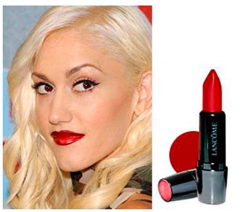 what are the colors of lipstick that gwen stefani wears on the voice glam o rama gal makeup how to get gwen s look popsugar