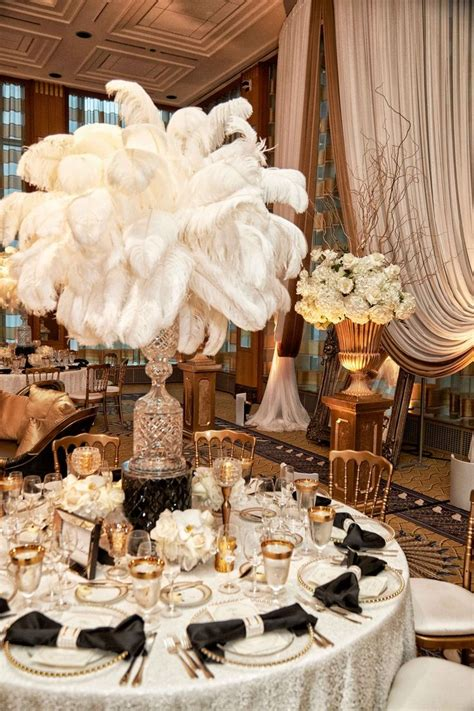 best 25 feather centerpieces ideas on ostrich