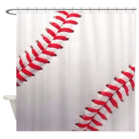 baseball curtain baseball sports theme shower curtain by inspirationzstore