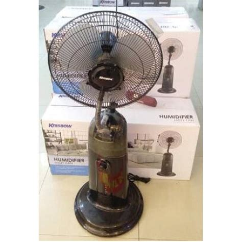 Krisbow Kipas Angin Humidifier Portabel Rechargeable krisbow humidifier mist fan energy humidifiers