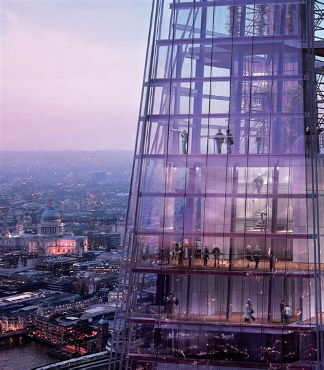 void matters architecture references  shard renzo piano