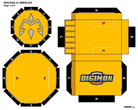 Digivice Papercraft - digi egg pg 1 of 3 by randyfivesix on deviantart