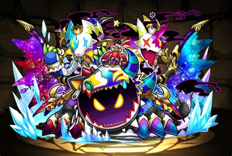 jester dragon drawn joker puzzle dragons wiki