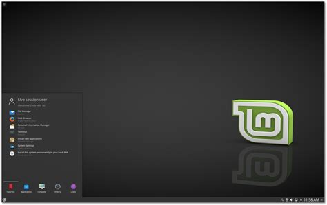 escritorio kde plasma new features in linux mint 18 kde linux mint