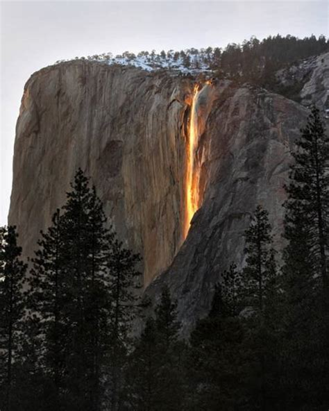 fire waterfall