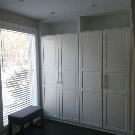 Ikea Mudroom Hack by Ikea Hack Pax Tyssedal Built In Home Pinterest What