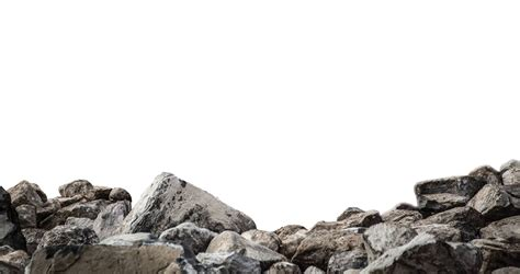 rocks foreground