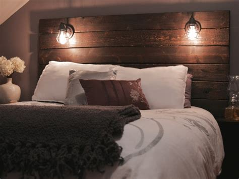 build a rustic wooden headboard live your goals