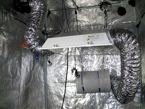 carbon filter exhaust fan file an hps grow light in grow tent with carbon filter