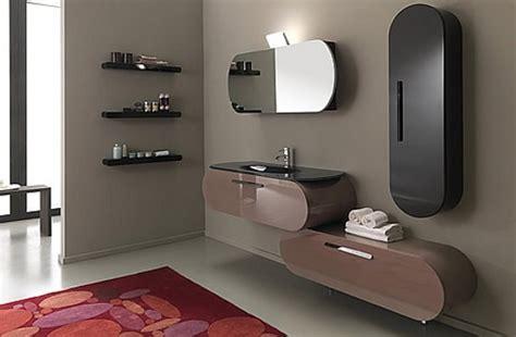 bathroom hardware ideas flux muebles de ba 241 o de dise 241 o con color y curvas