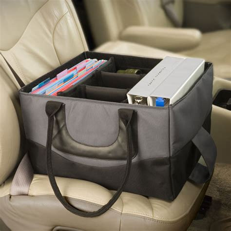 Mobile Desk For Car by Brilliant Or Baffling Auto Exec File Tote Popsugar Smart Living