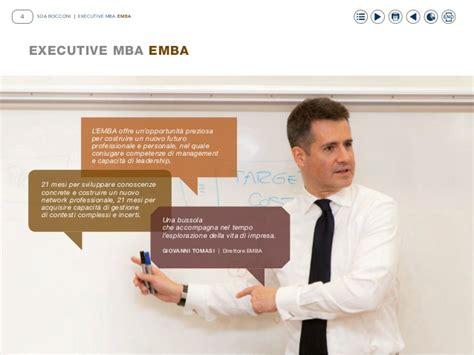 Executive Mba Bocconi by Emba Executive Mba Sdabocconi 2016 2017 B