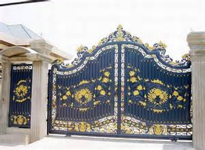 home gate design home landscaping