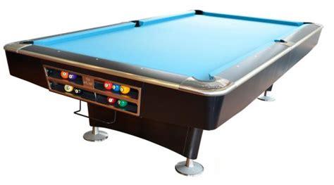 Olio Pool Table by Olio Pool Table 4809 Mattblack 8ft Olio