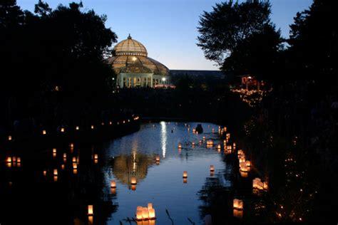 como park japanese lantern lighting festival today august