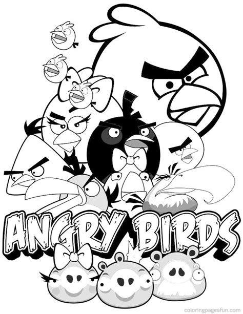 Angry Birds Coloring Pages 5 Coloring Kids Angry Birds Go Coloring Pages