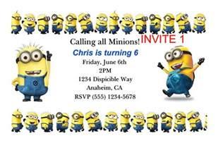 minion invitations template 40th birthday ideas birthday invitation template minions