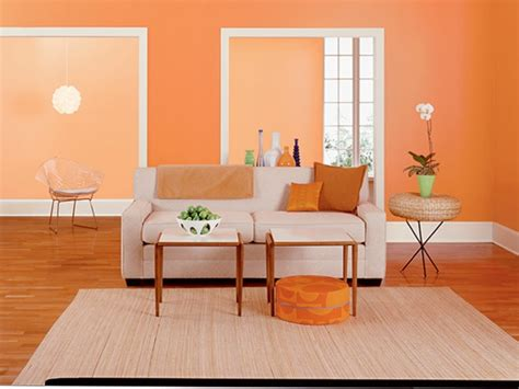 Beiges Sofa Welche Wandfarbe by Wandfarbe Apricot Warm Und Gem 252 Tlich Archzine Net