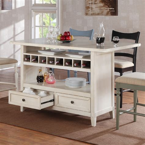 four seasons kitchen island wayfair