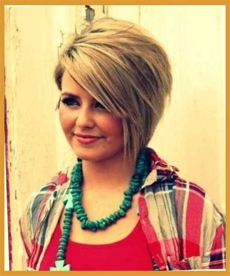chubby women hairstyle photo 10 trendy short hairstyles for women with round faces