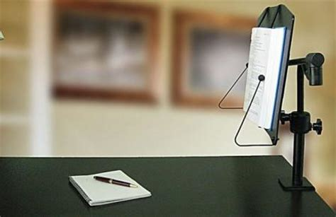 book stand desk levo bookholder cls to desk enables free reading