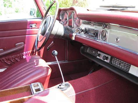 Mercedes 280sl Interior by 1969 Mercedes 280sl 4 Speed Bring A Trailer
