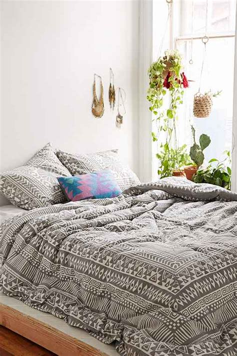 urban outfitters bed magical thinking printed woodblock comforter urban