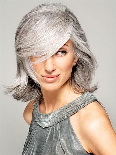 best hairstyle for hiding gray hair hairstyles gray hair