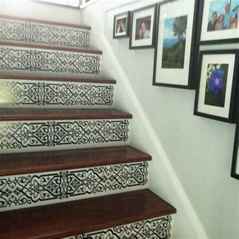 Painted Stairs Design Ideas 20 Interior Decorating Ideas For Wooden Stairs