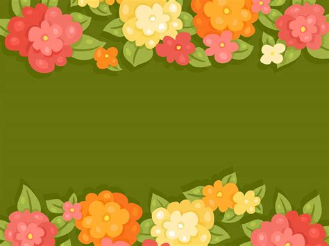 powerpoint themes plants plants party powerpoint templates green nature yellow
