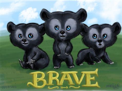 Brave Black black puppies or braves bears labradoodlescute