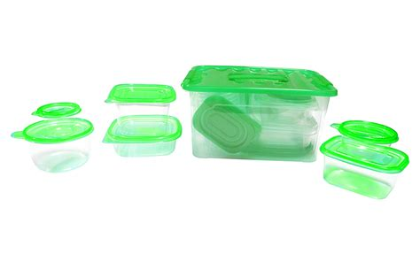 green food storage containers 54 pcs reusable plastic food storage containers set with