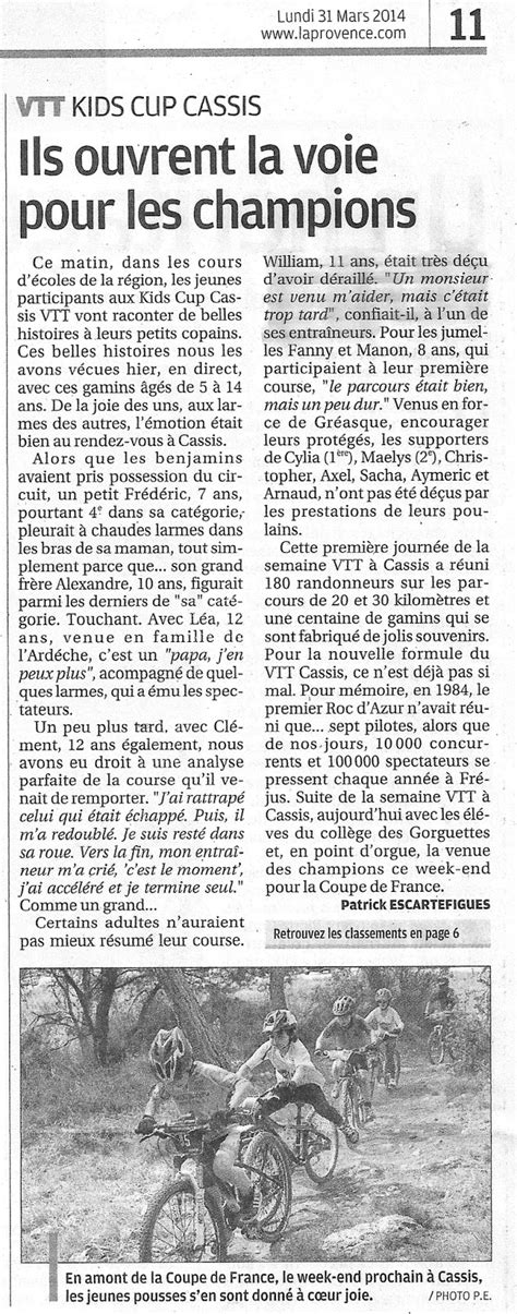 Carnoux Cyclo Vélo Club: Kids Cup & Rando VTT Coupe de