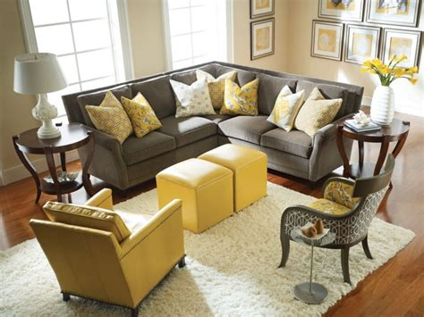 gray and yellow living room modern grey and yellow living room designs