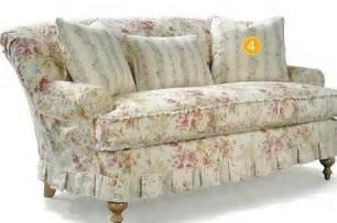 cottage style overstuffed sofa overstuffed sofas sofas