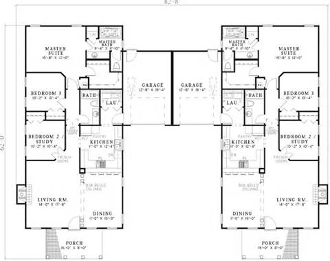 Dual Family House Plans by Fordyce Crest Multi Family Home Plan 055d 0369 House
