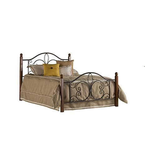 Bed Frames Milwaukee Hillsdale Furniture Milwaukee Wood Post Bed With Rails 7761054 Hsn