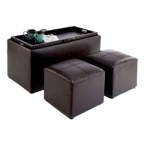 Bench Storage Ottoman Storage Bench And Ottomans In Ottomans