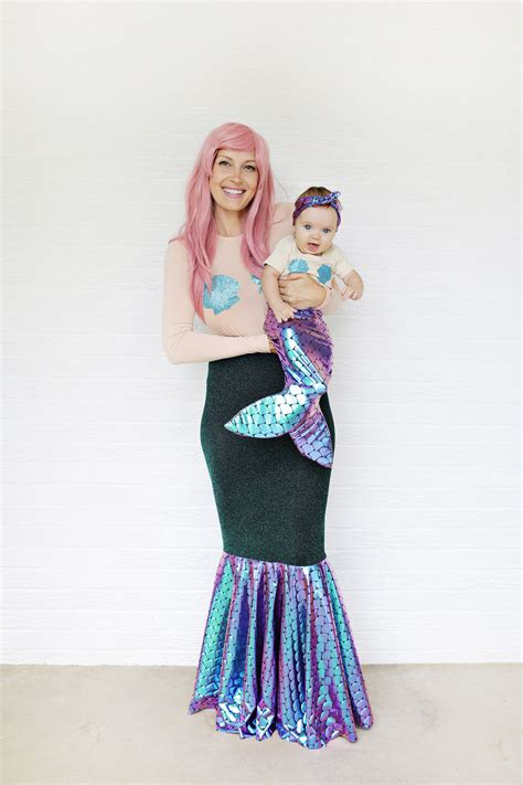 Handmade Mermaid Costume - mermaid costume diy a beautiful mess