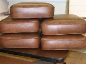 Foam Cushions For Couches by New Replacement Foam For Leather Chair Sofa And
