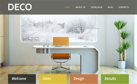 best home decor websites 40 interior design wordpress themes that will boost your