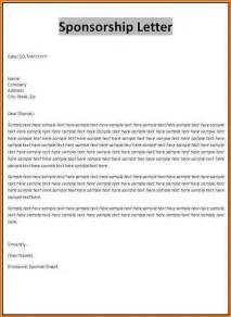 Sponsorship Resume Template by Sle Sponsorship Letter Gplusnick Sle Sponsorship