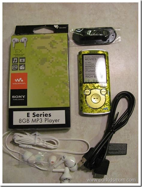 Mp3 Players Giveaway by Win Sony Walkman E Series 8gb Mp3 Player Review