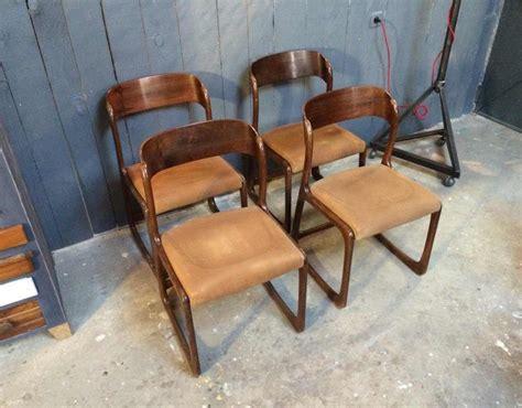 chaise baumann prix 4 chaises baumann bois courb 233 vintage