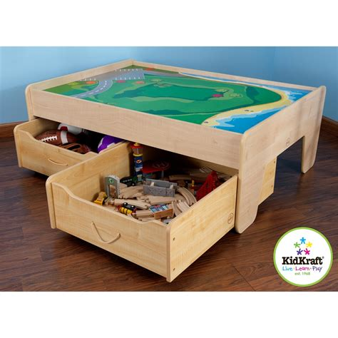 Kidkraft Metropolis Set Table With Trundle Drawer by Kidkraft Trundle Drawer
