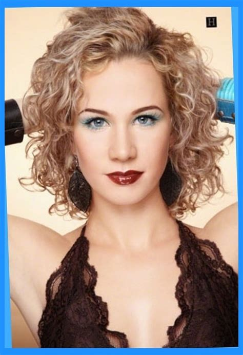 permed hairstyles medium length layered curly spiral perm hairstyle picture